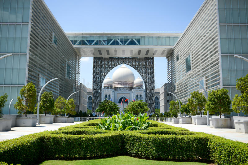 Palais de justice, Putrajaya, Malaisie photo stock