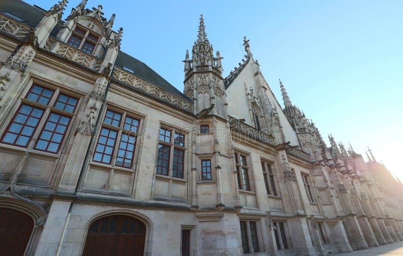 Palais de justice de Rouen, la capitale de la r?gion du Haute-Normandie, France images libres de droits