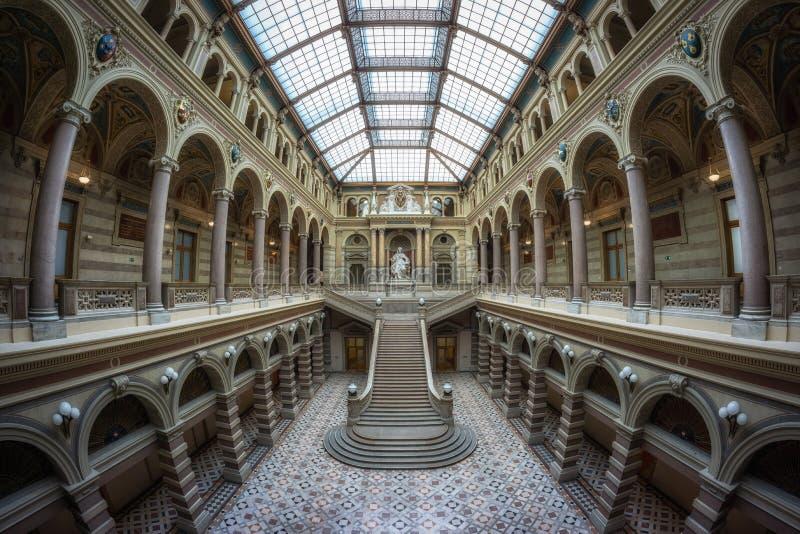 Palais de justice de Vienne images libres de droits