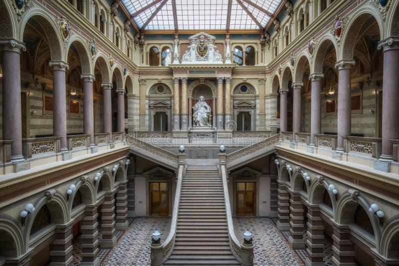 Palais de justice de Vienne photos libres de droits