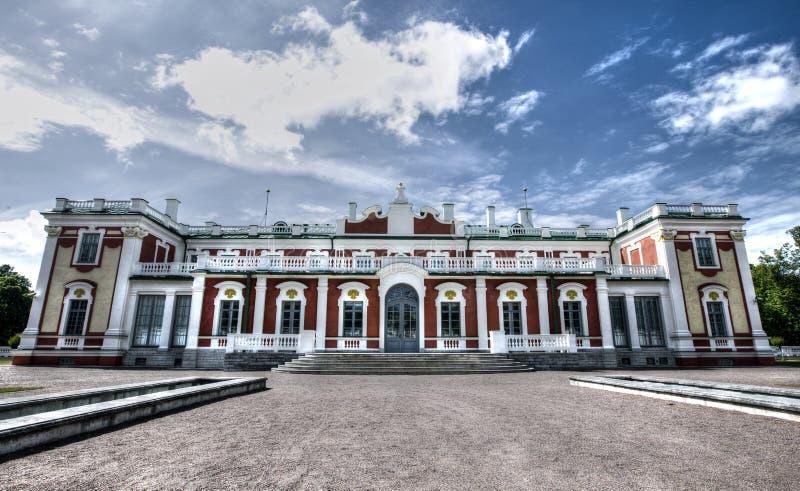 Palais de Kadriorg à Tallinn image stock