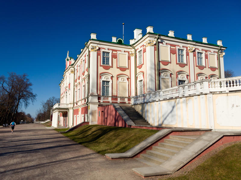 Palais de Kadriorg à Tallinn Estonie photo stock