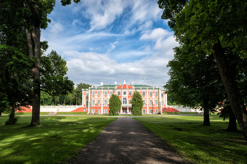 Download Palais De Kadriorg à Tallinn, Estonie Photo stock - Image du historique, ville: 76087100