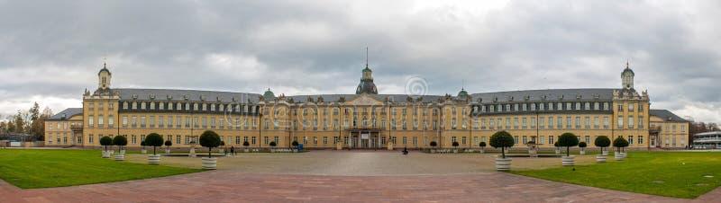 Palais de Karlsruhe - Allemagne images libres de droits