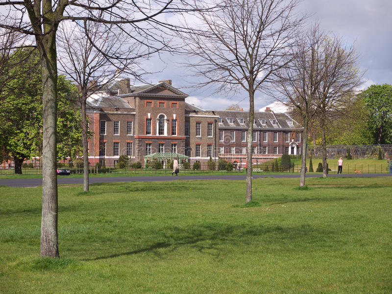 Palais de Kensington, Londres image libre de droits