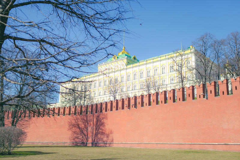 Palais de Kremlin des congrès photos libres de droits