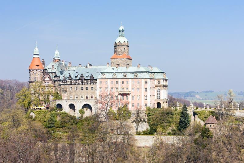 Palais de Ksiaz, Sil?sie, Pologne photos stock
