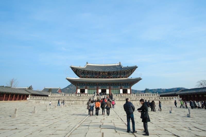 Palais de Kyongbok photos libres de droits