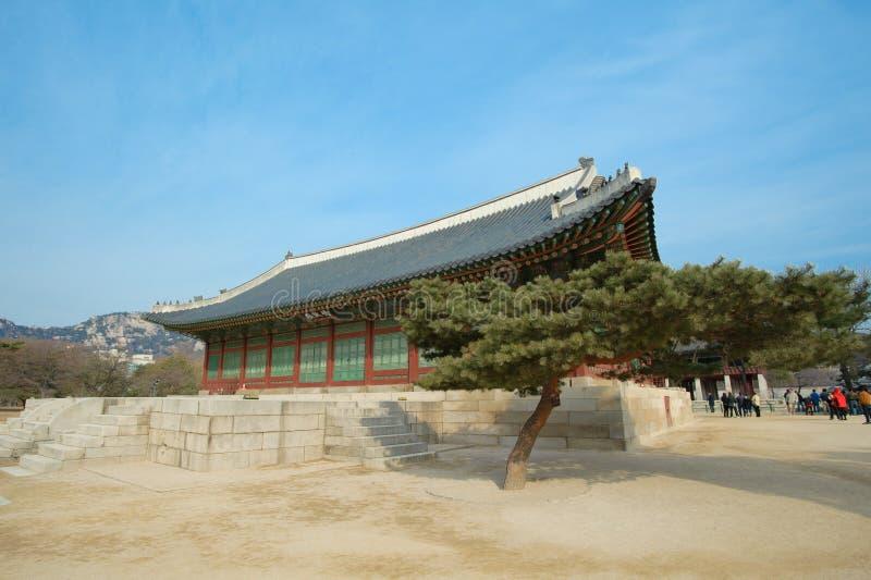 Palais de Kyongbok photographie stock