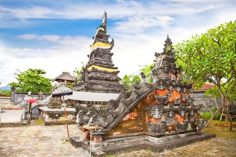 Palais de l'eau de Mayura, Mataram, Lombok photographie stock libre de droits