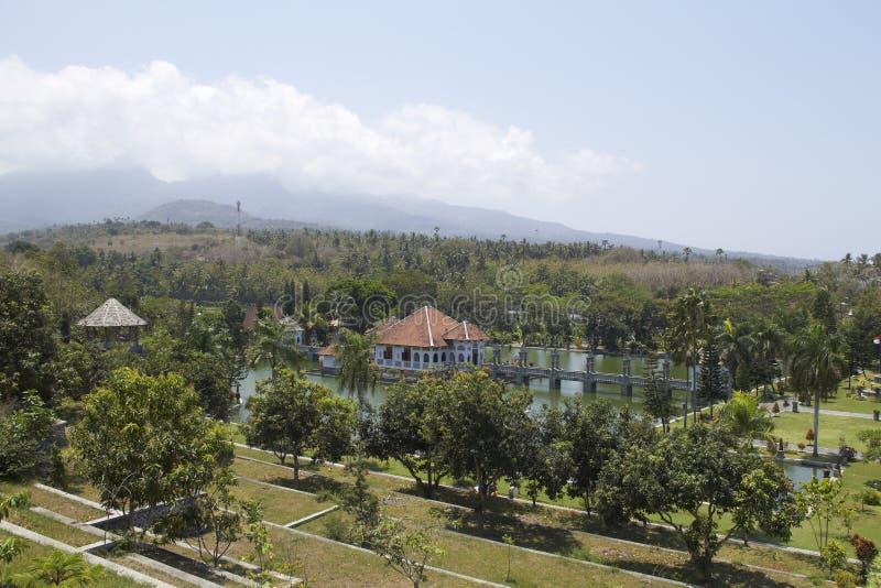 Palais de l'eau de Taman Soekasada Ujung photos stock