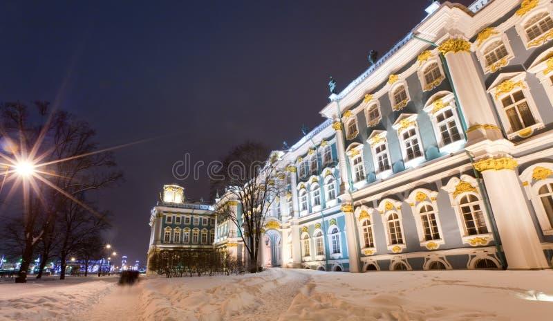 Palais de l'hiver de Rastrelli photographie stock libre de droits