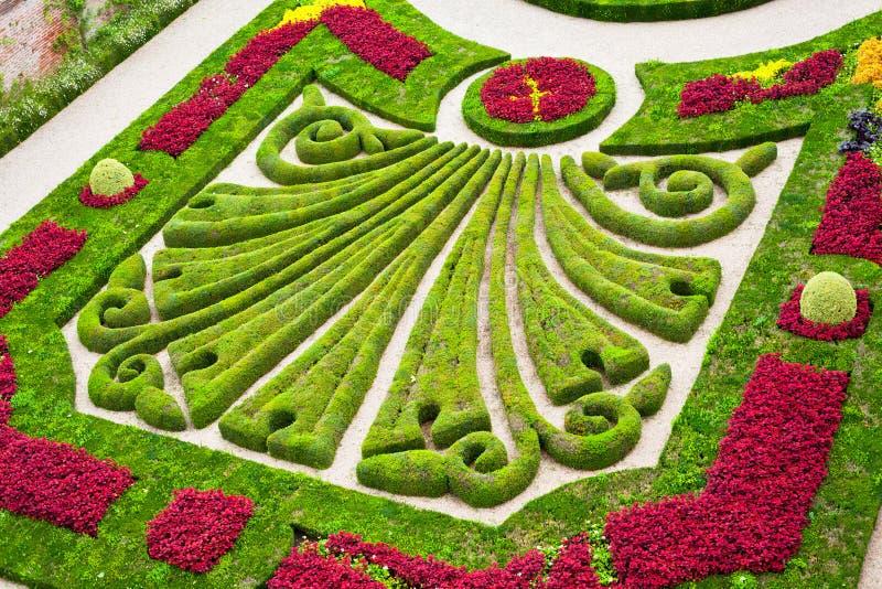 Palais de la Berbie Gardens en Albi, el Tarn, Francia imagen de archivo