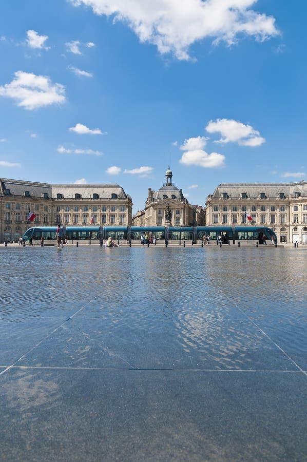 Download Palais De La A Bolsa No Bordéus, France Imagem de Stock - Imagem de bordéus, arte: 16864977