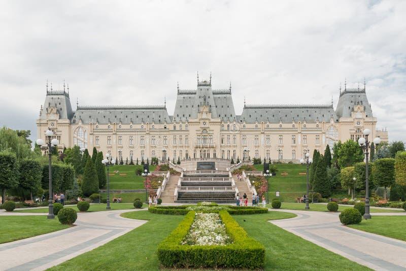 Palais de la culture IASI, Roumanie photos libres de droits