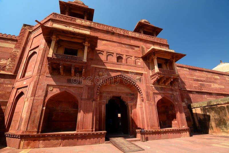 Palais de la Reine Fatehpur Sikri Uttar pradesh l'Inde image stock