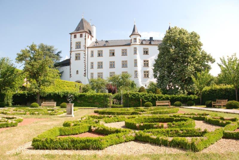 Palais de la Renaissance de Berg- de château - Sarre-Allemagne photographie stock