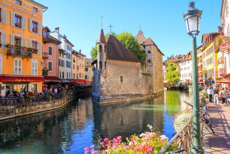 Palais de lilse, Annecy, France image libre de droits