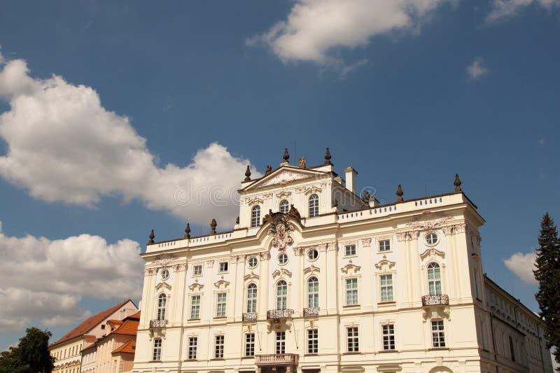 Palais de Lobkowicz dans le château de Prague photos libres de droits