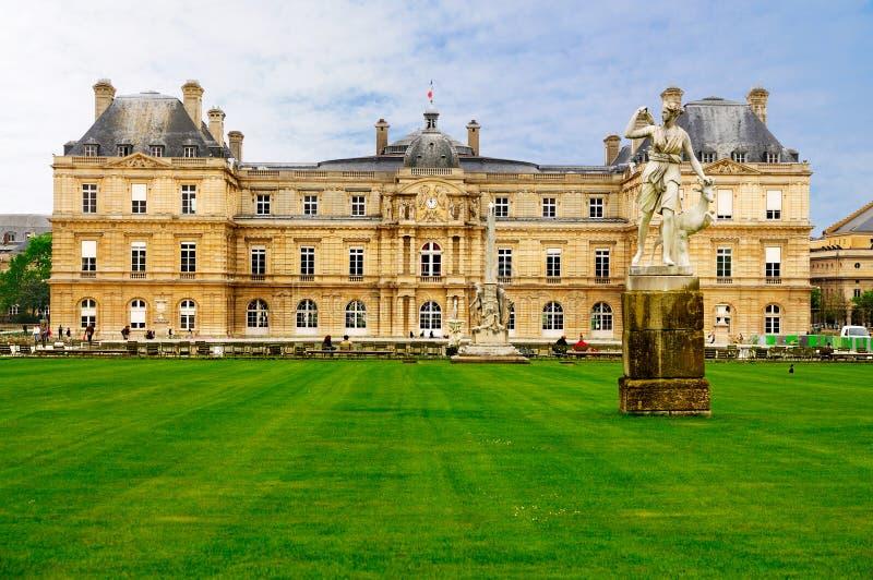 Palais de Lussemburgo, Parigi fotografia stock libera da diritti