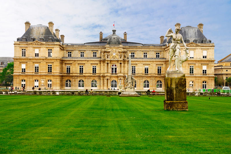 Palais de Luxembourg, Paris royalty free stock photo