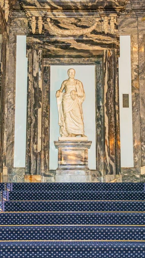 Palais de marbre à St Petersburg images libres de droits