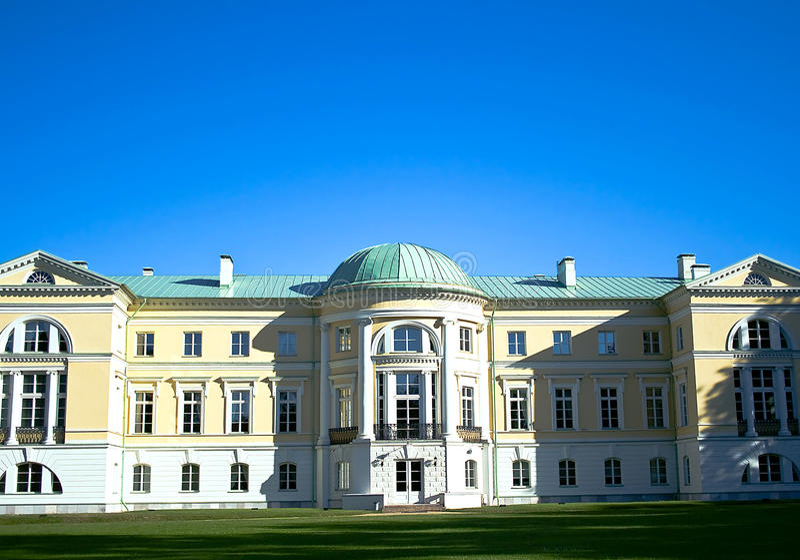Palais de Mezhotnes photos stock