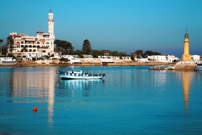 Palais de Montaza à l'Alexandrie, Egypte. images stock