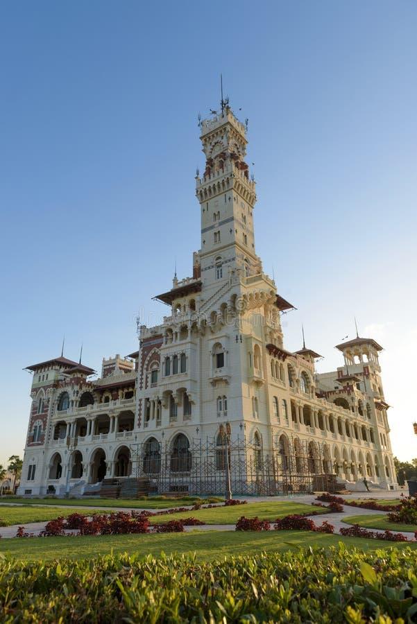 Palais de Montazah photo stock