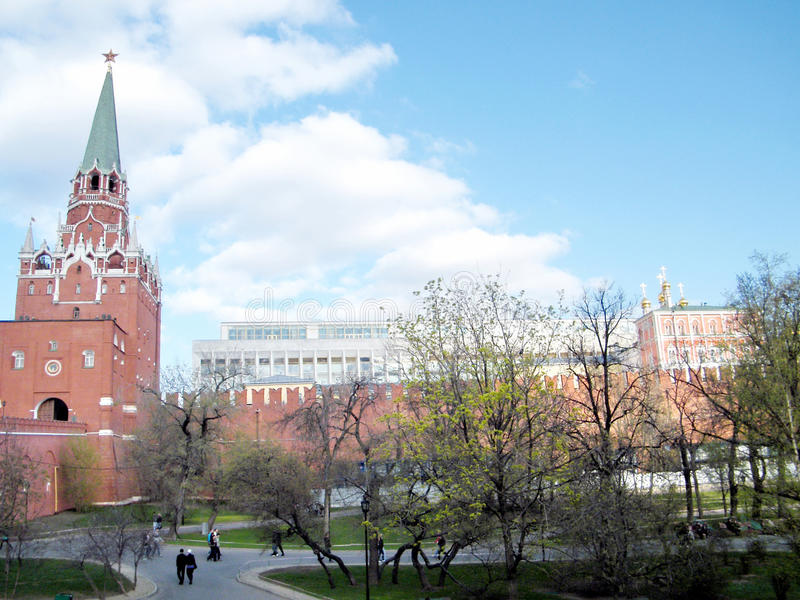 Palais de Moscou Kremlin des congrès 2011 photo libre de droits