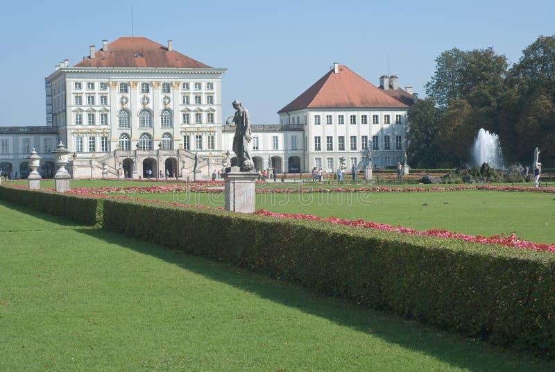 Palais de Nymphenburg à Munich photos stock