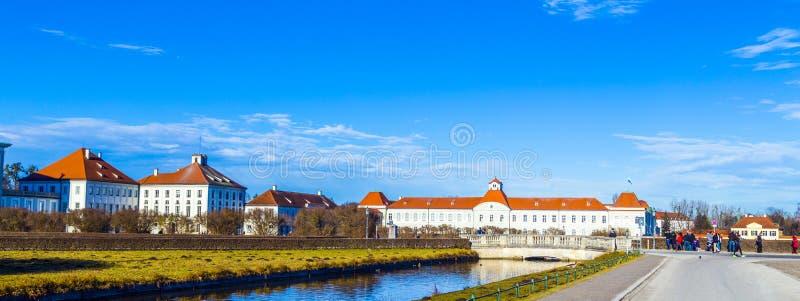 Palais de Nymphenburg, la résidence d'été des rois bavarois photo stock