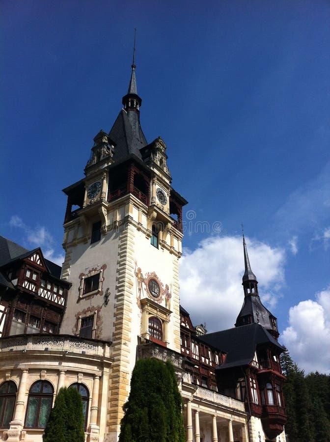 Palais de Peles en Roumanie images libres de droits