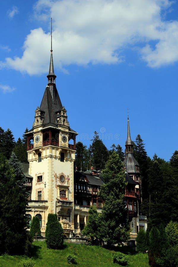 Palais de Peles, Sinaia, Roumanie photos libres de droits