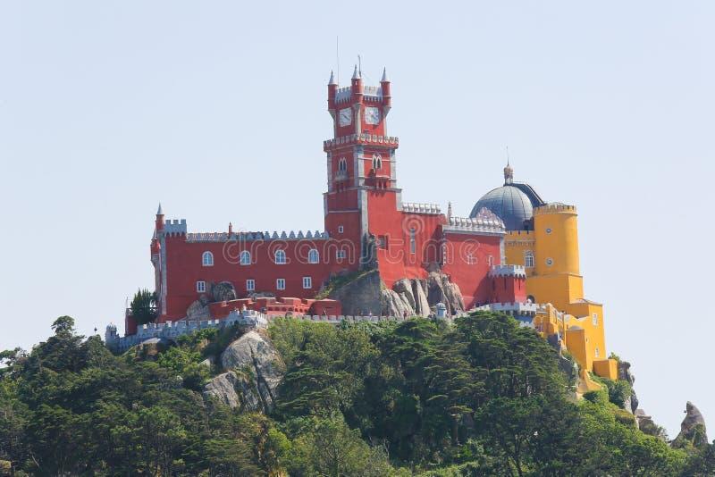 Download Palais De Pena Dans Sintra, Portugal Image stock - Image du lisbonne, romantique: 76079531