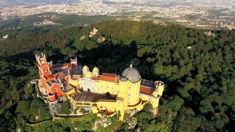 Palais de Pena, sintra Portugal photographie stock