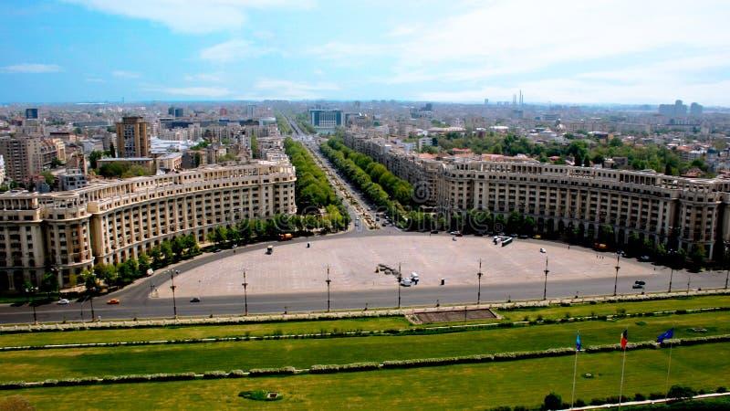 Palais de peuples - Roumanie image libre de droits