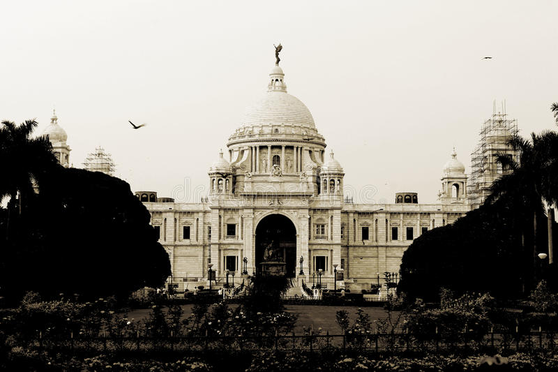 Palais de Queens Victoria image libre de droits