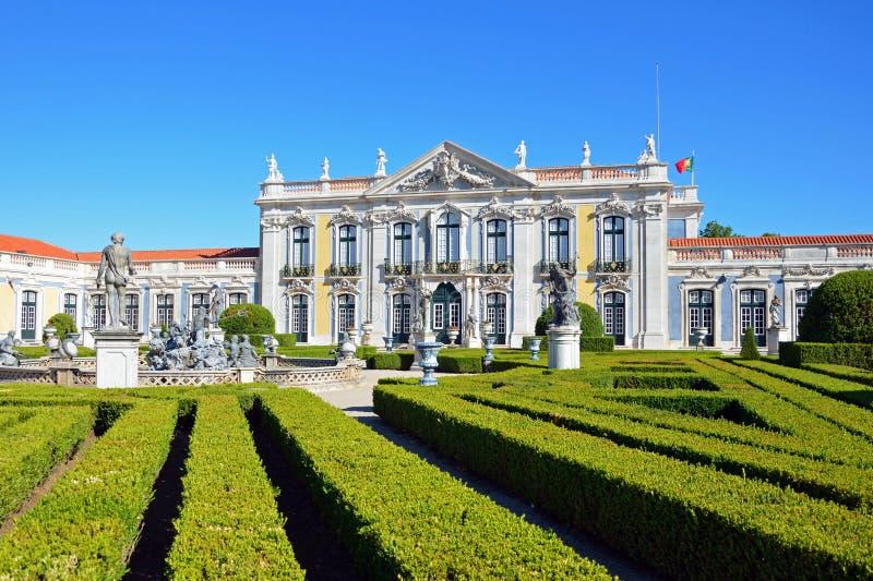 Palais de Queluz photographie stock
