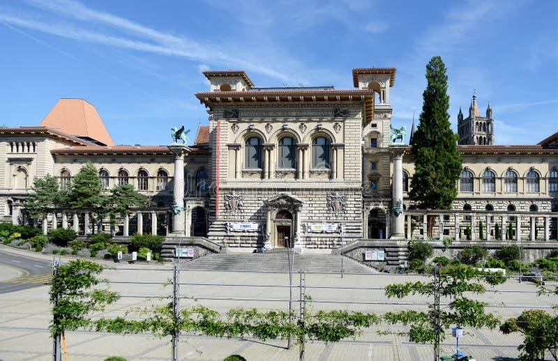 Palais de Rumine images libres de droits