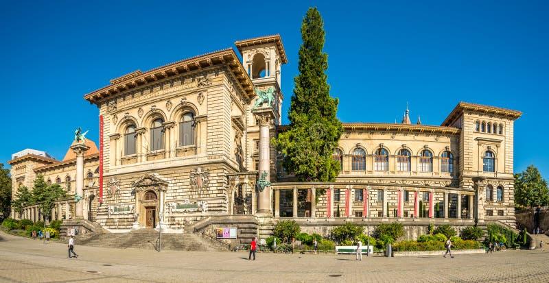 Palais DE Rumine in Lausanne royalty-vrije stock afbeeldingen