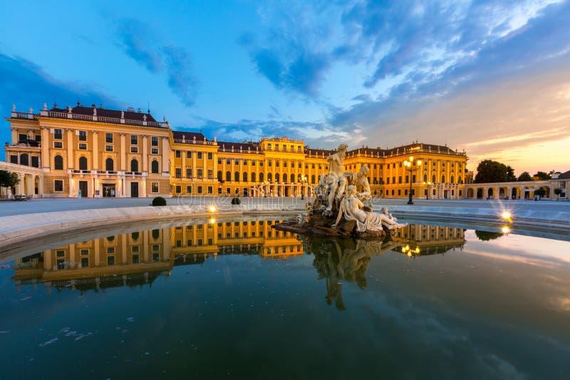 Palais de Schonbrunn photo stock