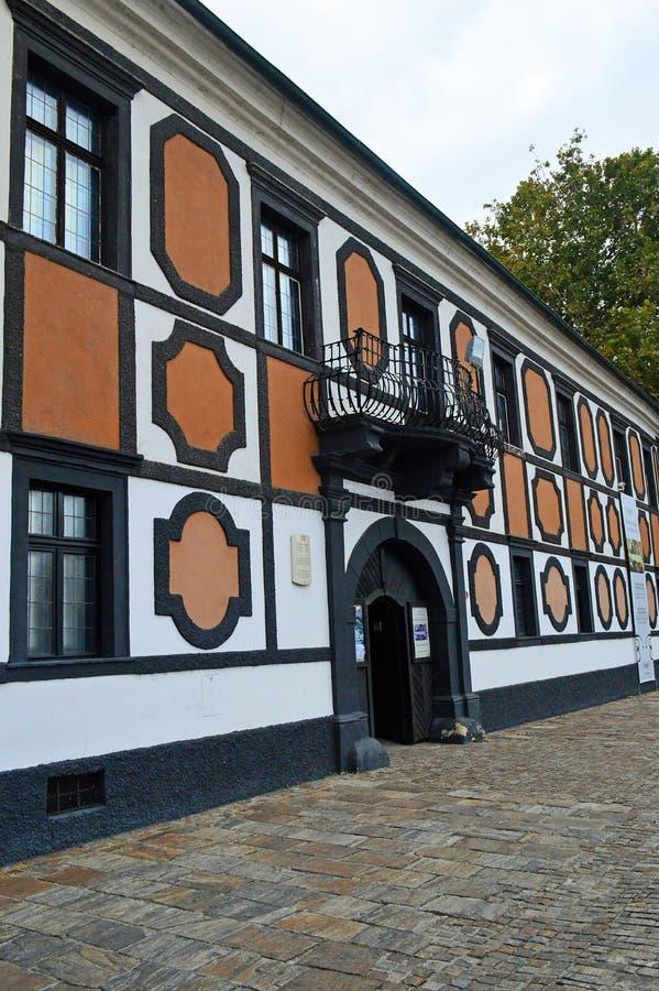 Palais de Sermage dans la vieille ville de, Varazdin, Croatie photographie stock libre de droits
