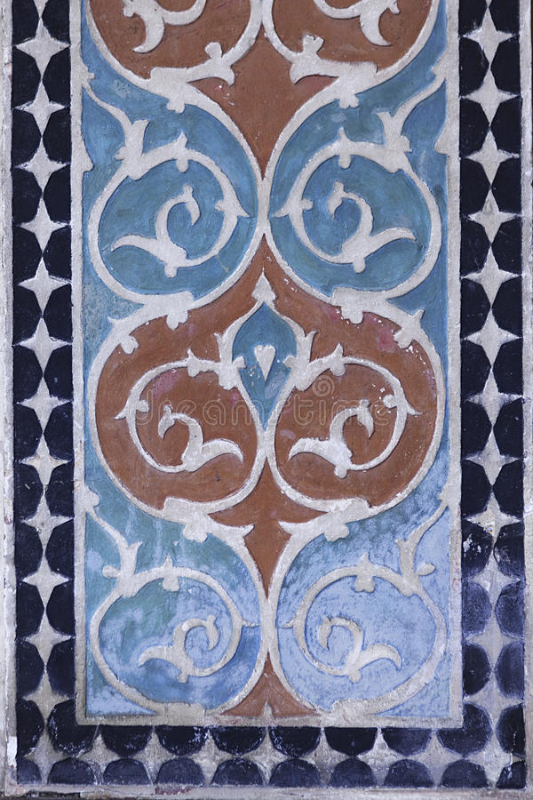 Palais de Shaki Khans en Azerbaïdjan image stock
