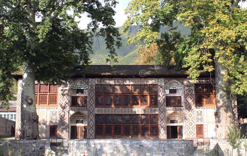 Palais de Sheki image libre de droits