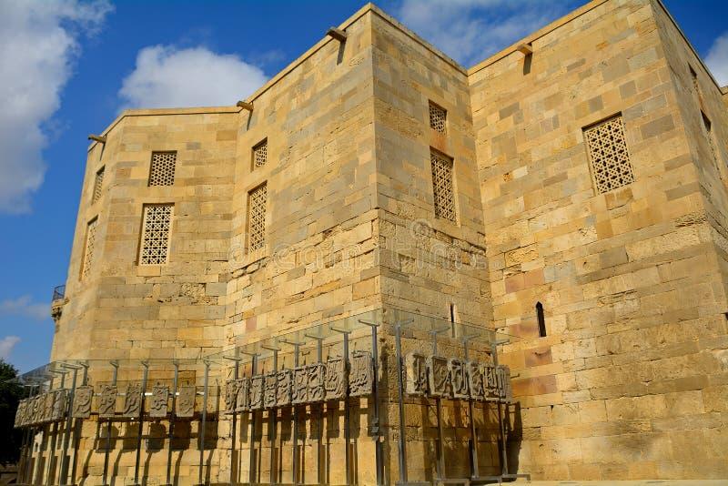 Palais de Shirvan Shah, Bakou, Azerbaïdjan image stock