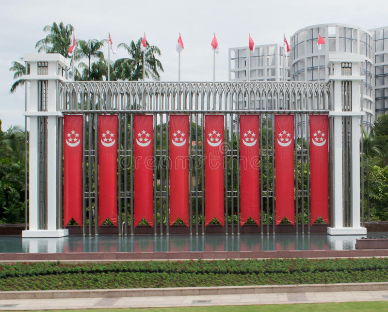 Palais de Singapour photographie stock libre de droits