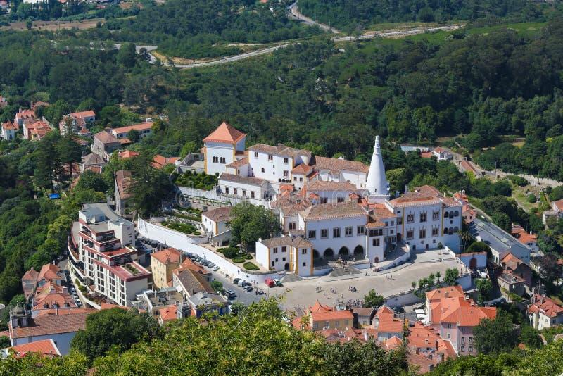 Download Palais De Sintra, Secteur De Lisbonne, Portugal Photo stock - Image du royal, overview: 76079548