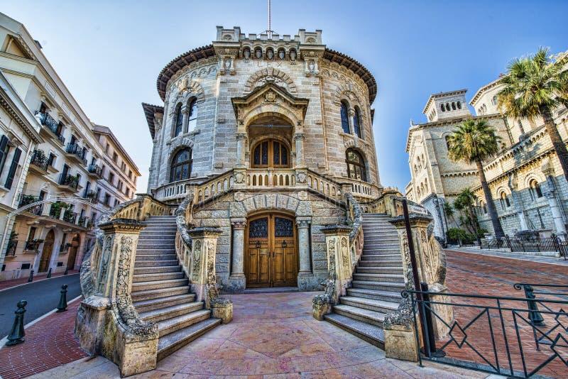 Palais De Sprawiedliwość - gmach sądu, Monaco zdjęcie stock