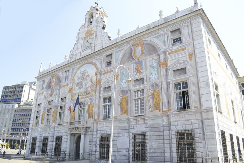 Palais de St George, Gênes, Italie images stock